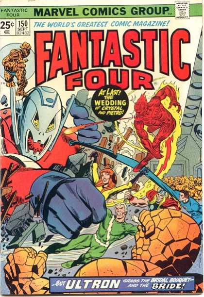 Fantastic Four # 150, the first Marvel comic I ever bought with my own money