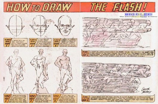 flash-how-to-draw-carmine-infantino-dc-comics-limited-collectors-edition-tabloid-pencils-silver-bronze-age